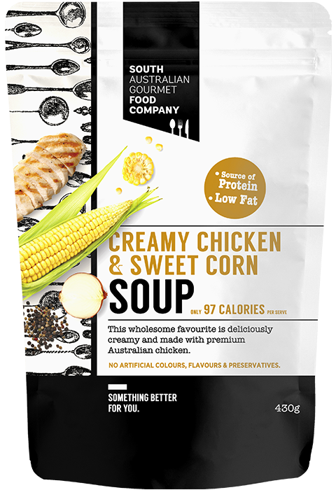 Picture of Creamy chicken and sweet corn soup 430g