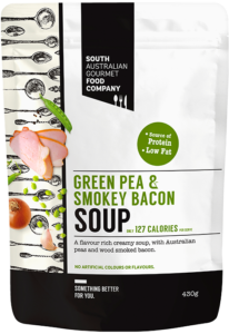 Picture of Green pea and smokey bacon soup 430g