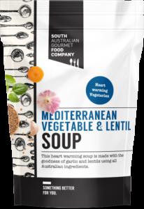 Mediterranean Vegetable and Lentil soup