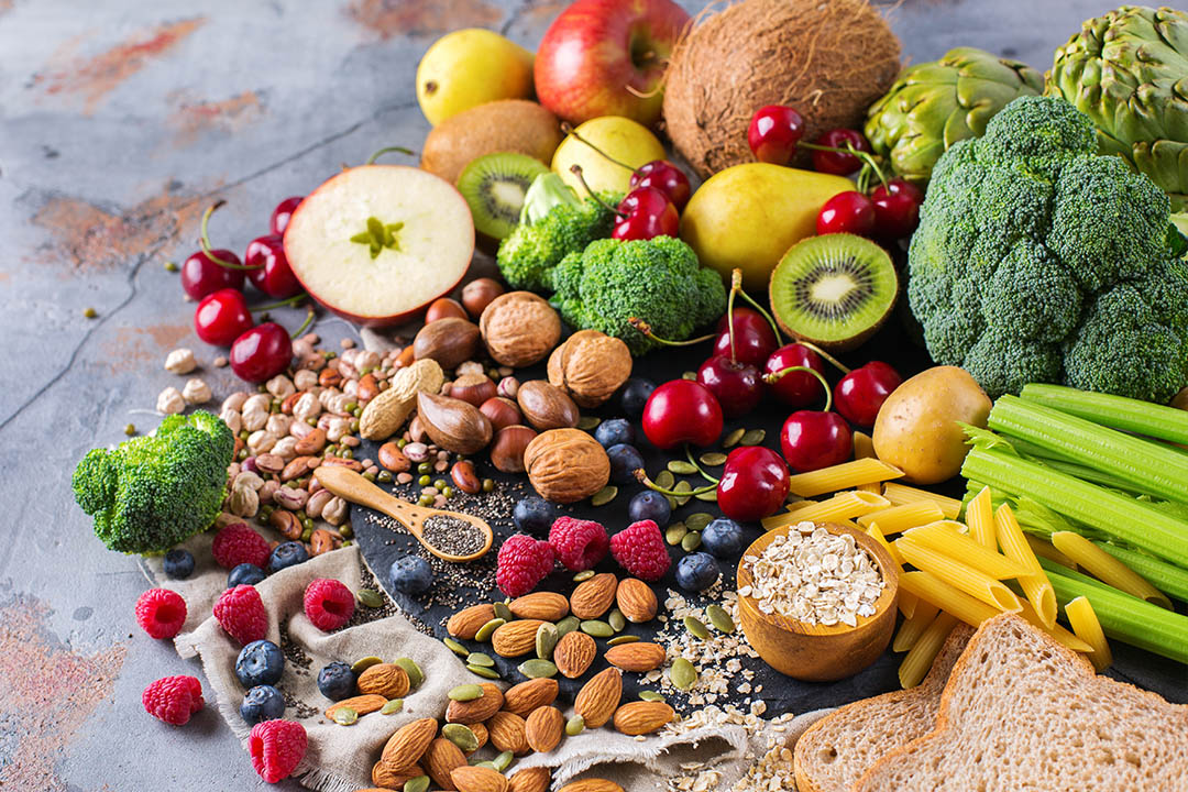 healthy rich fiber sources vegan food for cooking