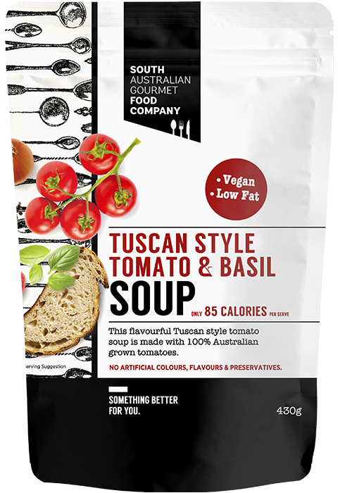 Picture of Tuscan tomato and basil soup 430g
