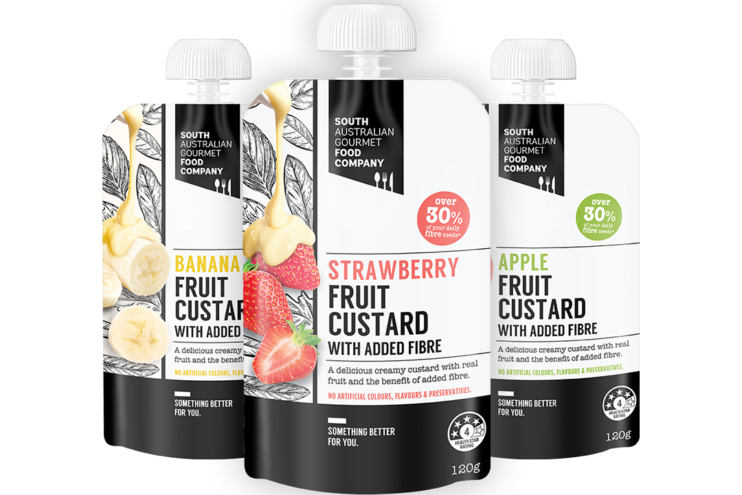 Picture of 3 packs of South Australian Gourmet Food Company Custards